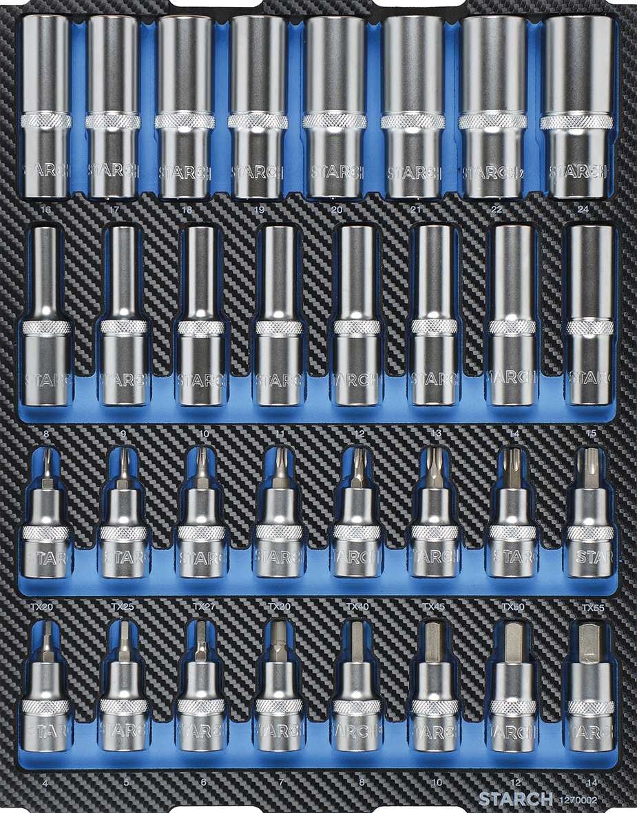 Steckschlüsselsatz 1/2 Zoll Image