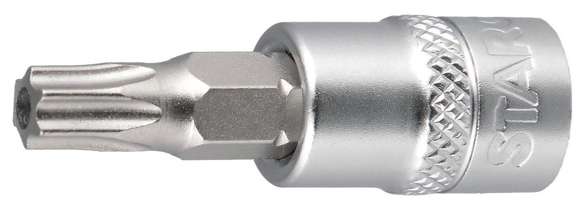 Steckschlüsseleinsatz 1/4 Zoll, Torx mit Loch Image